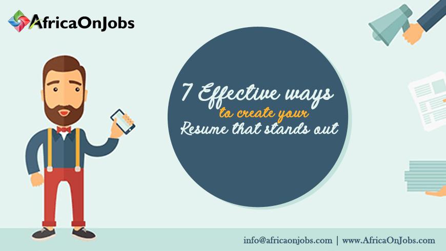 Jobs in Africa